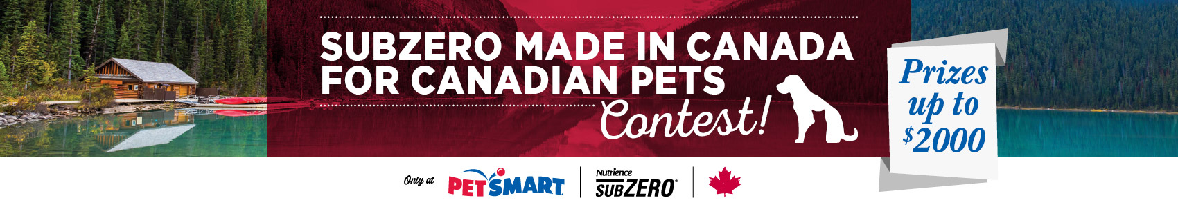 Made in Canada for Canadian pets